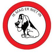 honden verboden